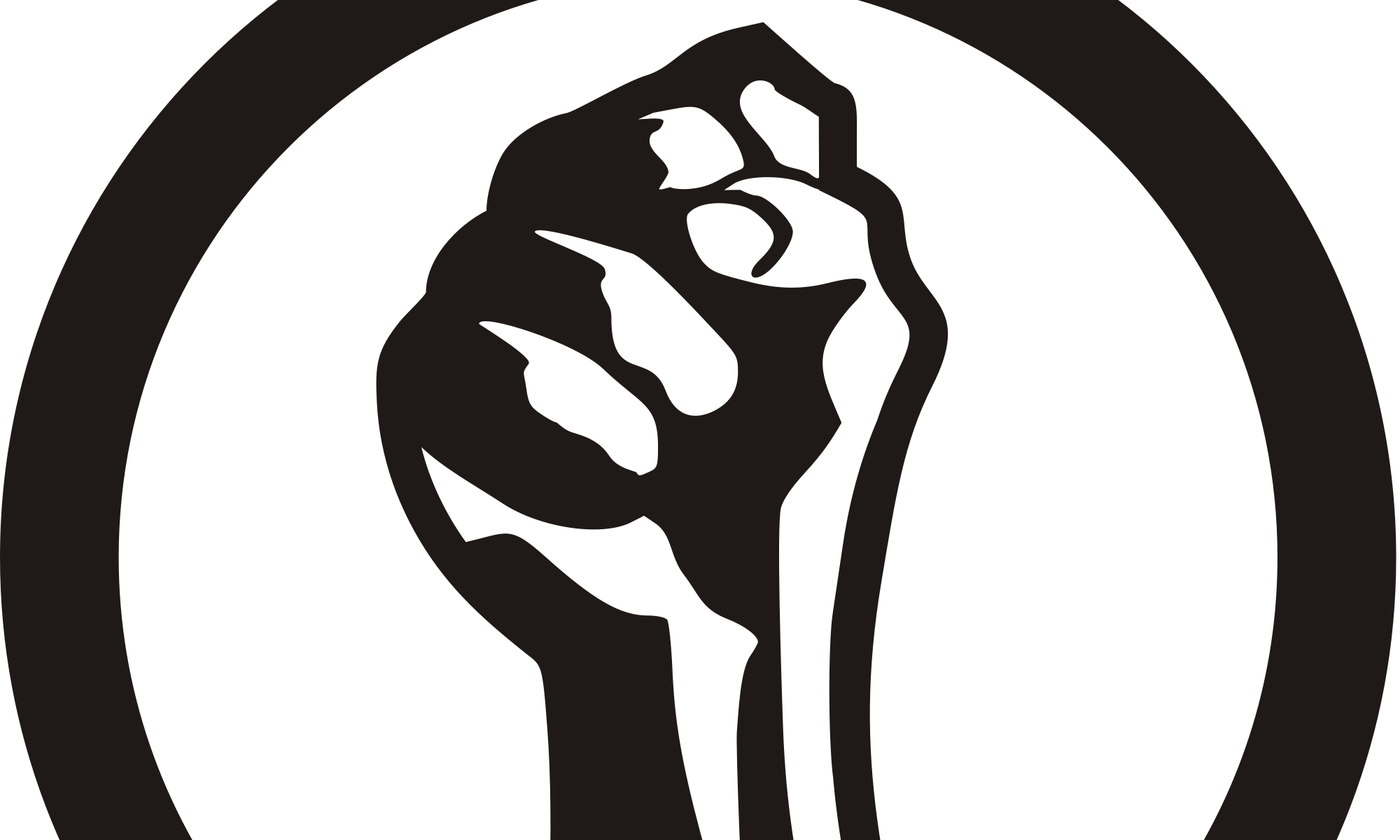Exploring feminism evangeline zarpas. Fist clipart feminist