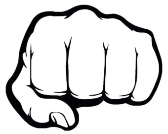 Fist clipart fist pump. Free punch cliparts download
