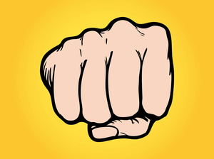 Free images at clker. Fist clipart fist pump