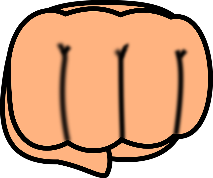 Fist punch free on. Lamp clipart petromax