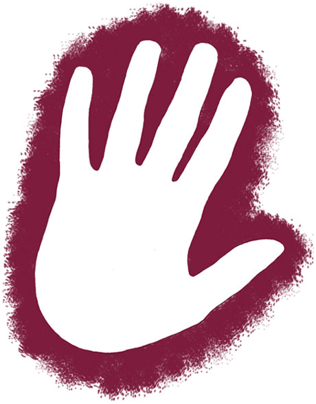 Fist clipart hand close. Outline closed icons free