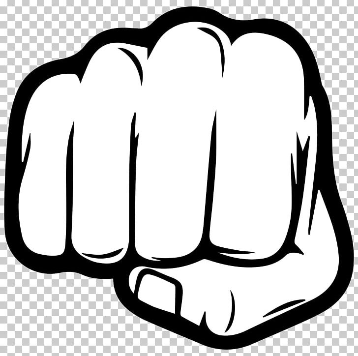 fist clipart man