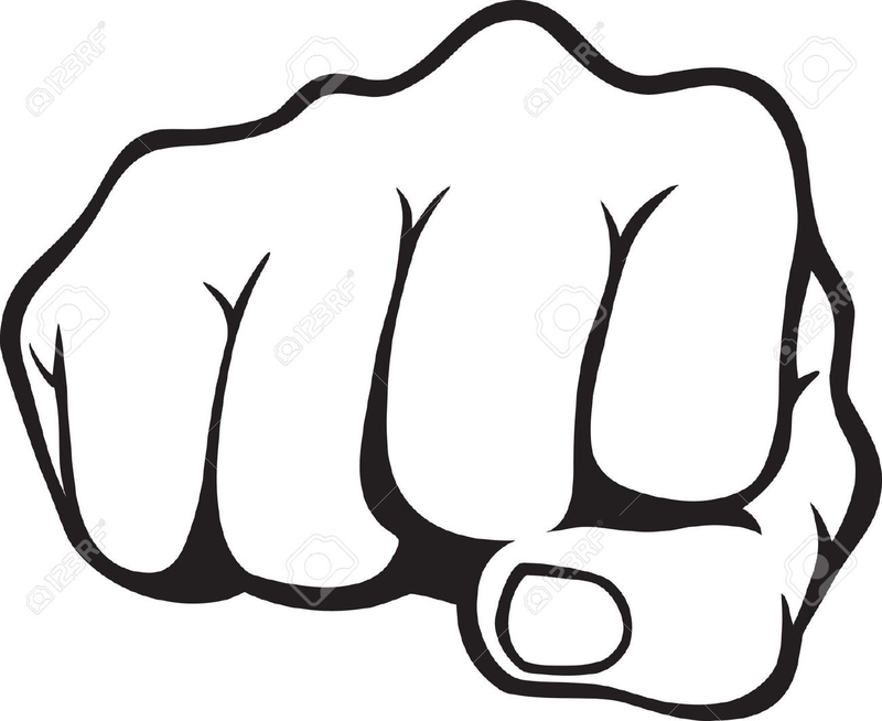 Fist clipart militant. Download free png pin