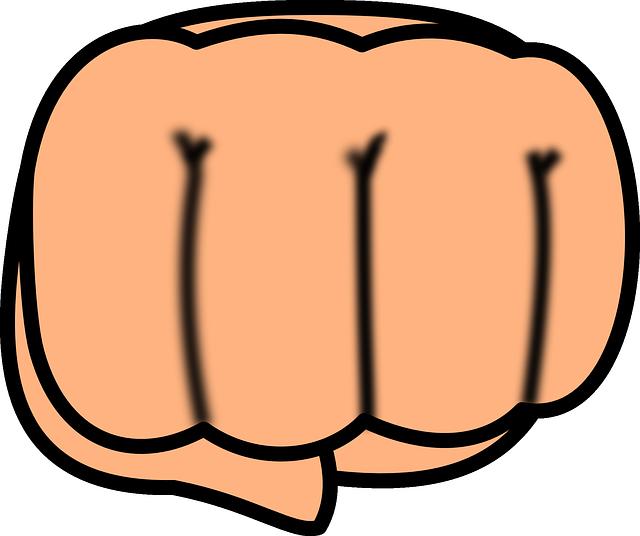 Fist clipart militant. Png punching transparent images