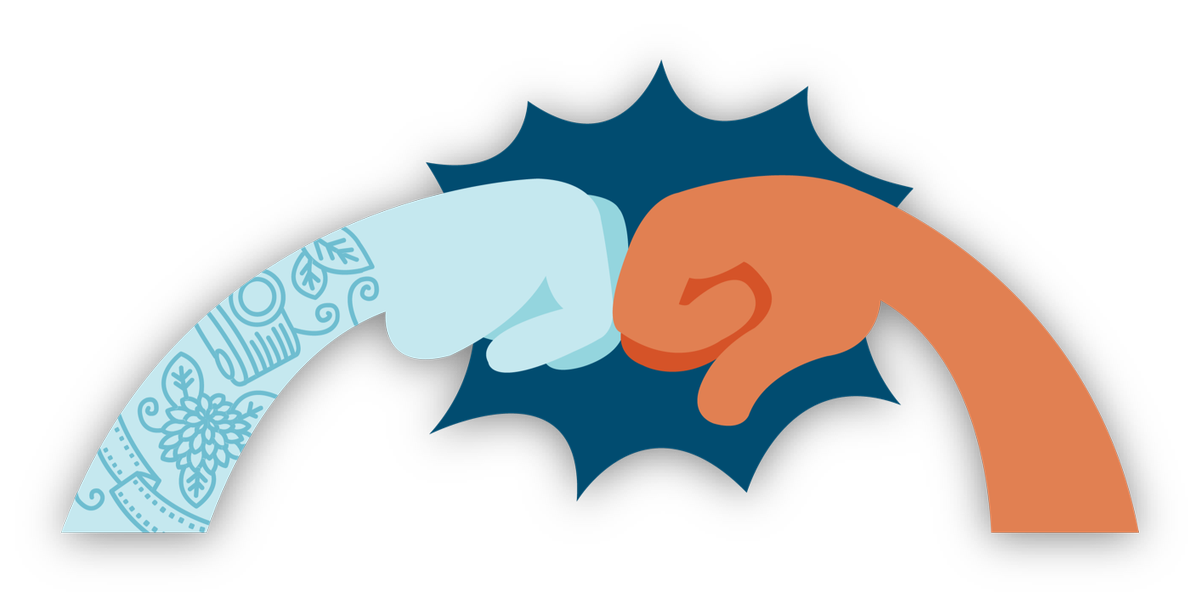Simply accessible on twitter. Fist clipart pow