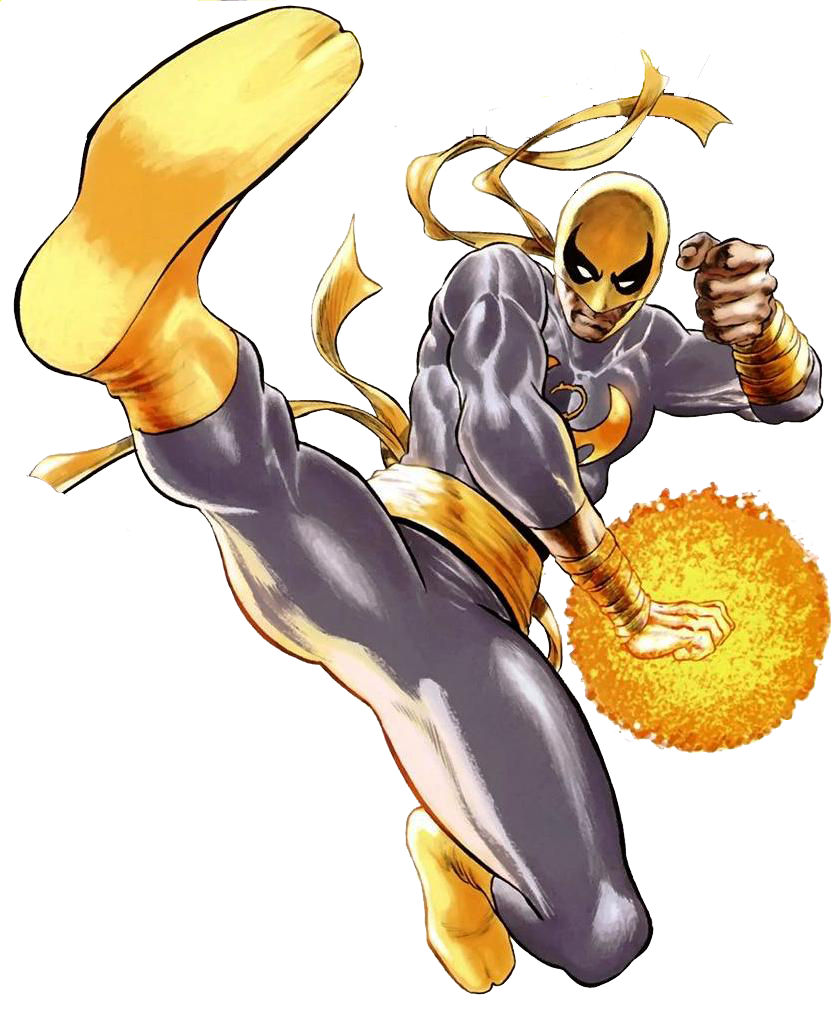Daniel rand earth spider. Fist clipart power to person
