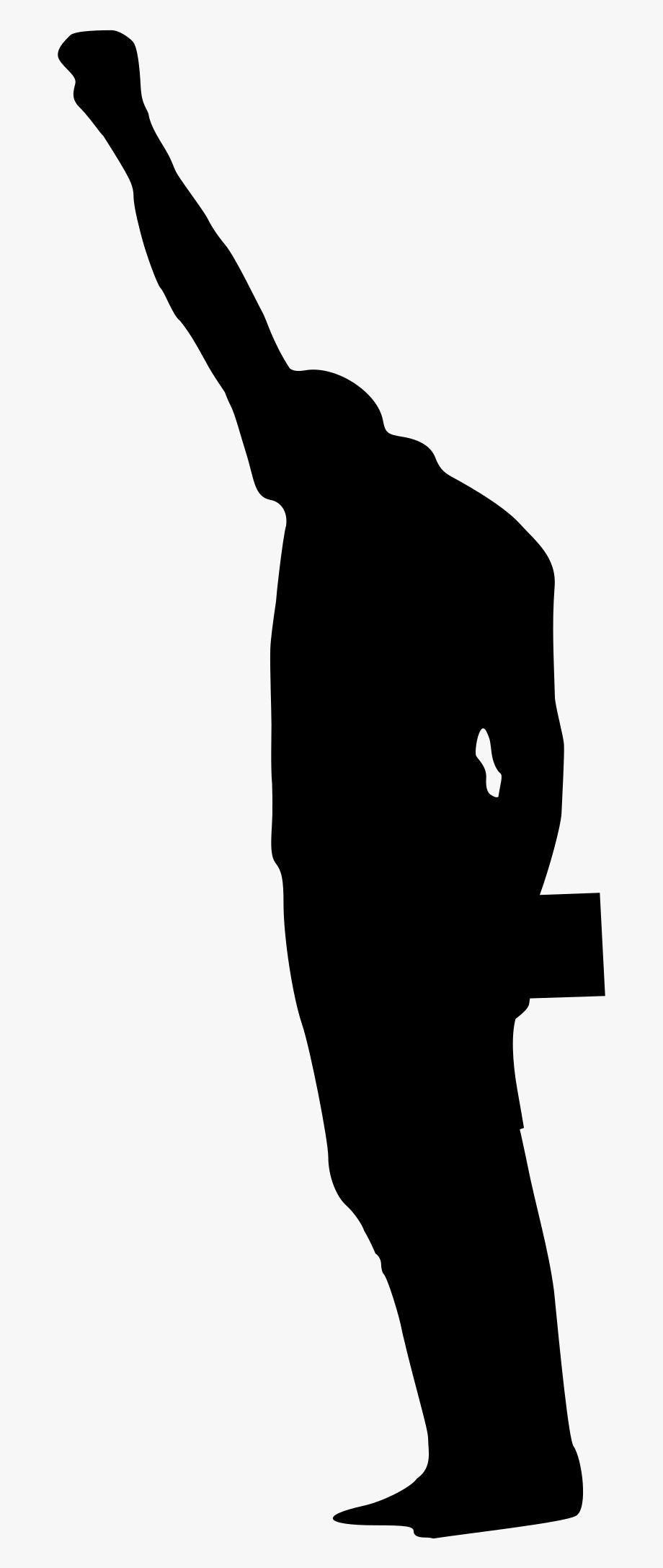 Fist clipart power to person. Black clip art silhouette