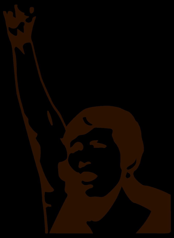 Public domain clip art. Fist clipart power to person