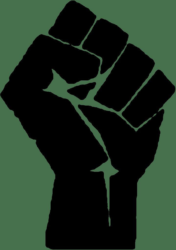 Transparent png stickpng download. Fist clipart raised fist
