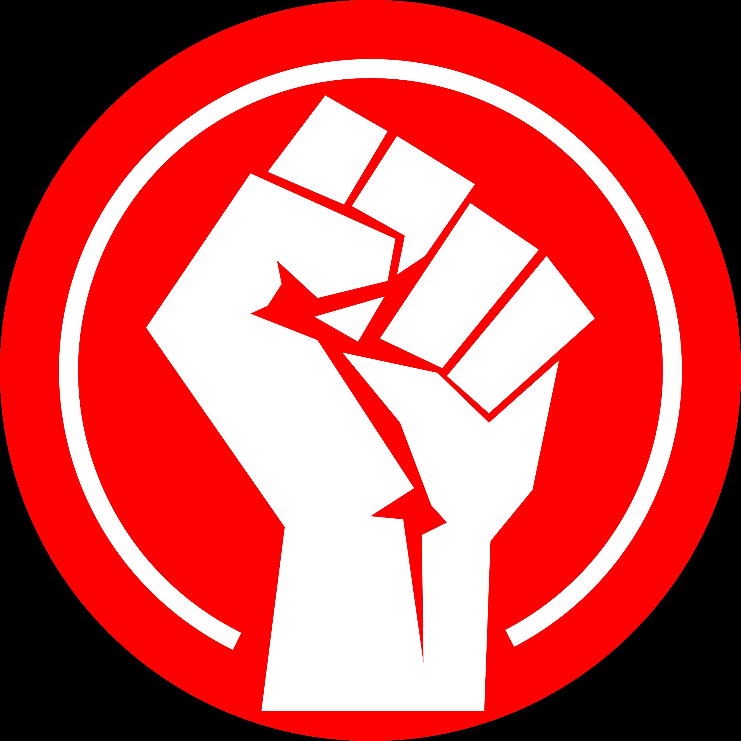 Logo by eternaltyro remixed. Fist clipart raised fist