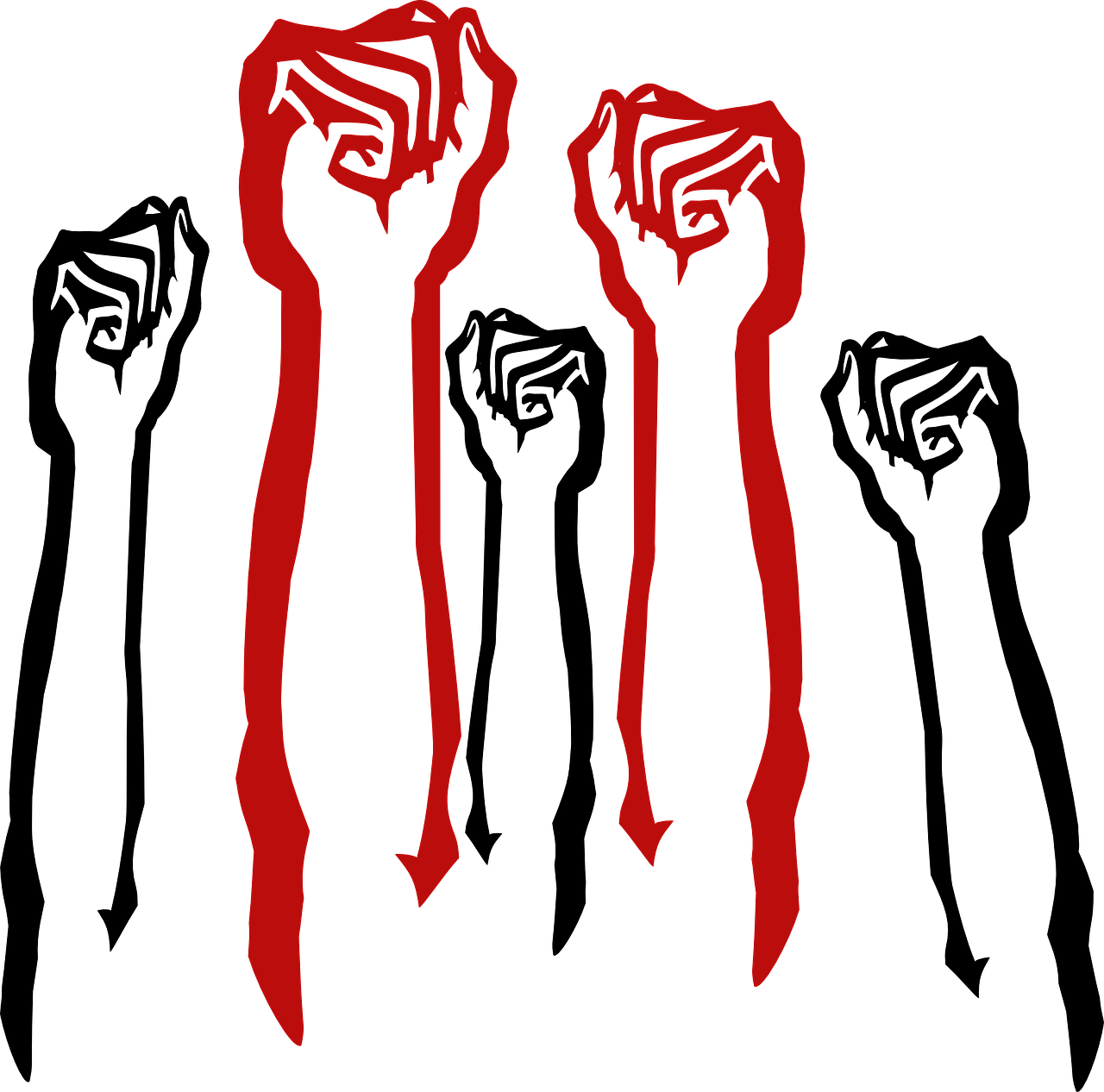 Fist vector png. Standing up for your
