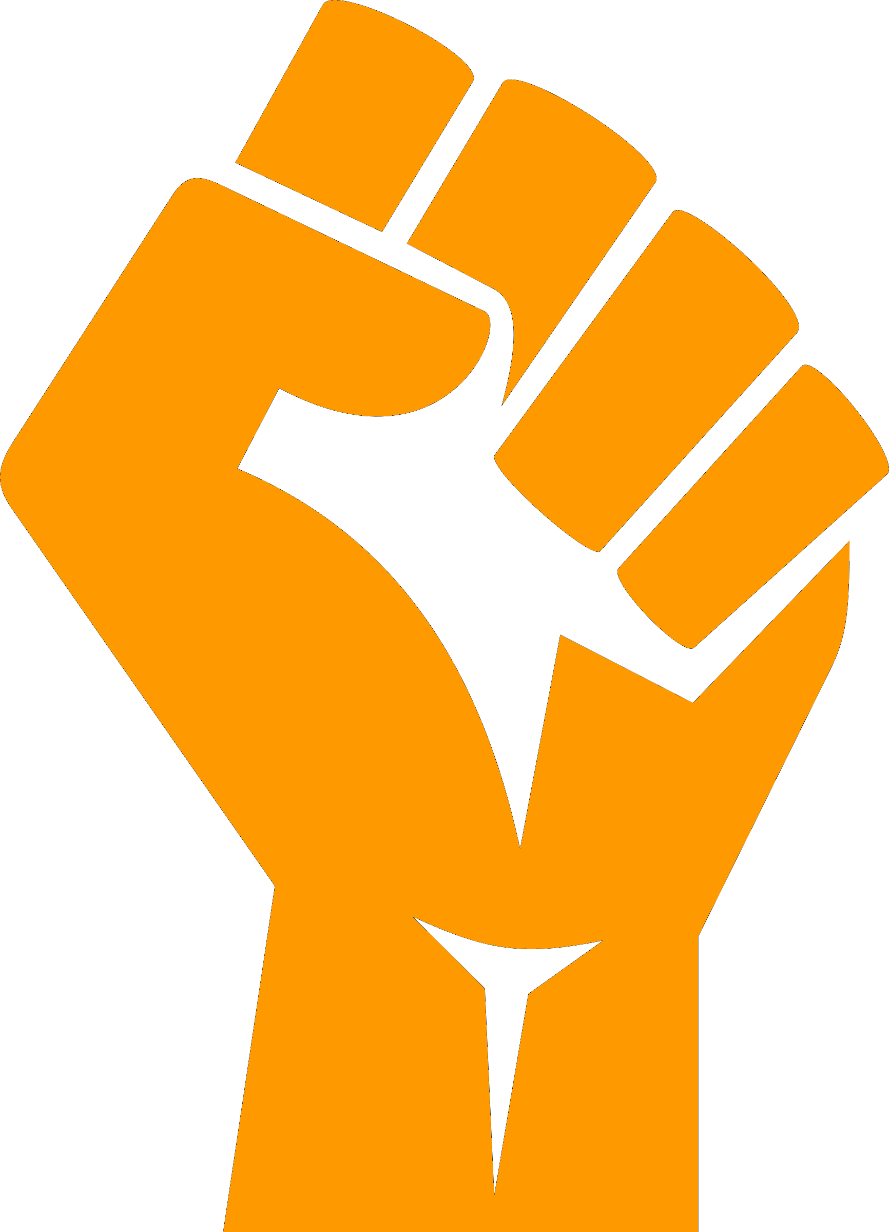 Fist clipart raised fist. File png wikimedia commons