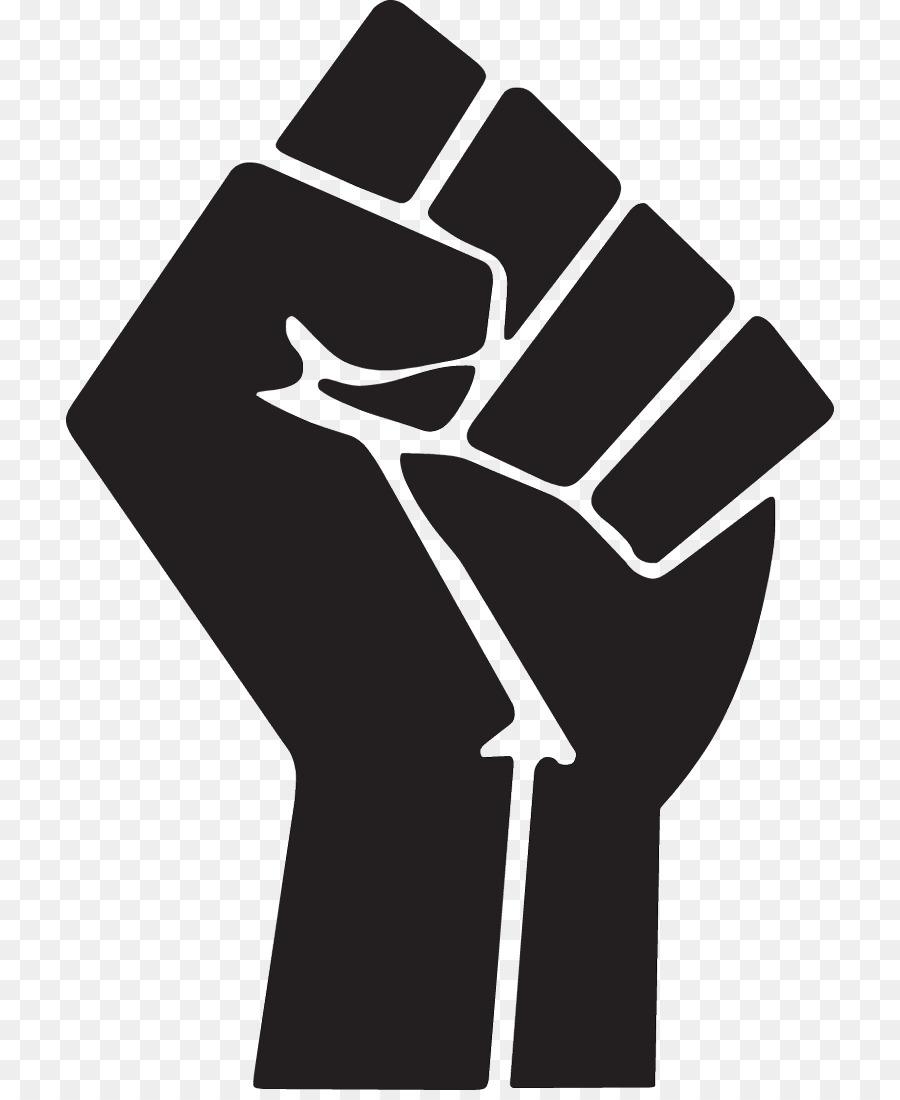 Hand cartoon finger font. Fist clipart raised fist