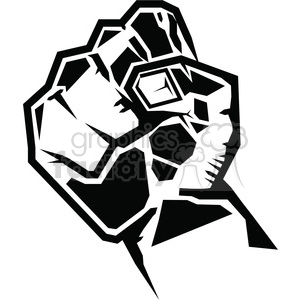 Royalty free . Fist clipart rebellion
