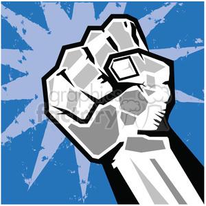 Fist clipart rebellion. Uprising insurrection illustration art