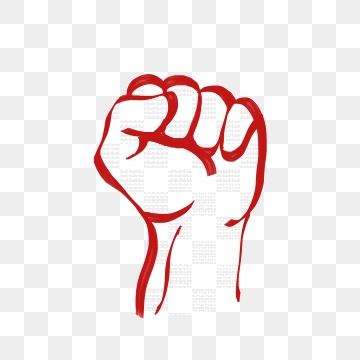 Fist clipart red. Png vector psd and