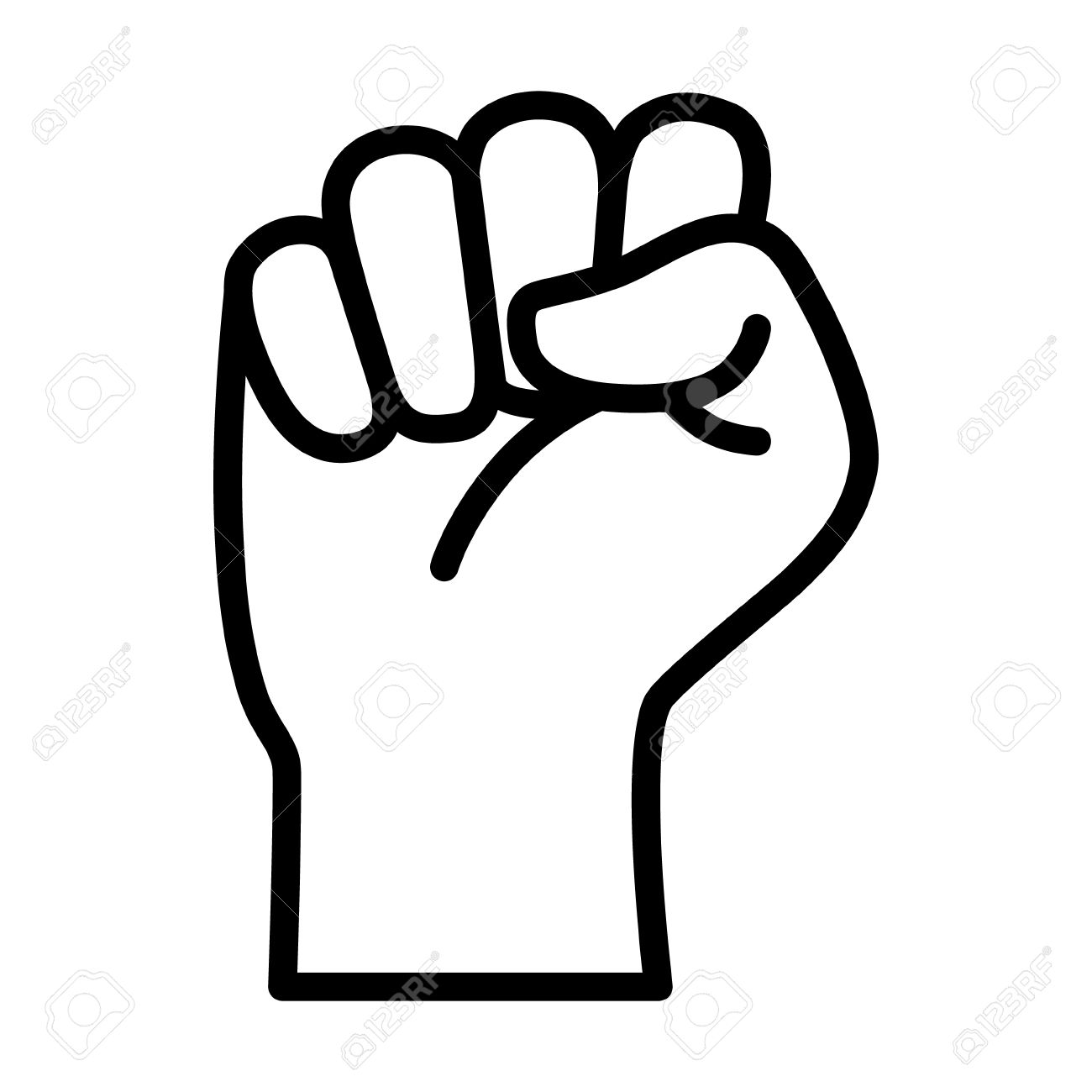 Fist clipart resistance. Free download best on
