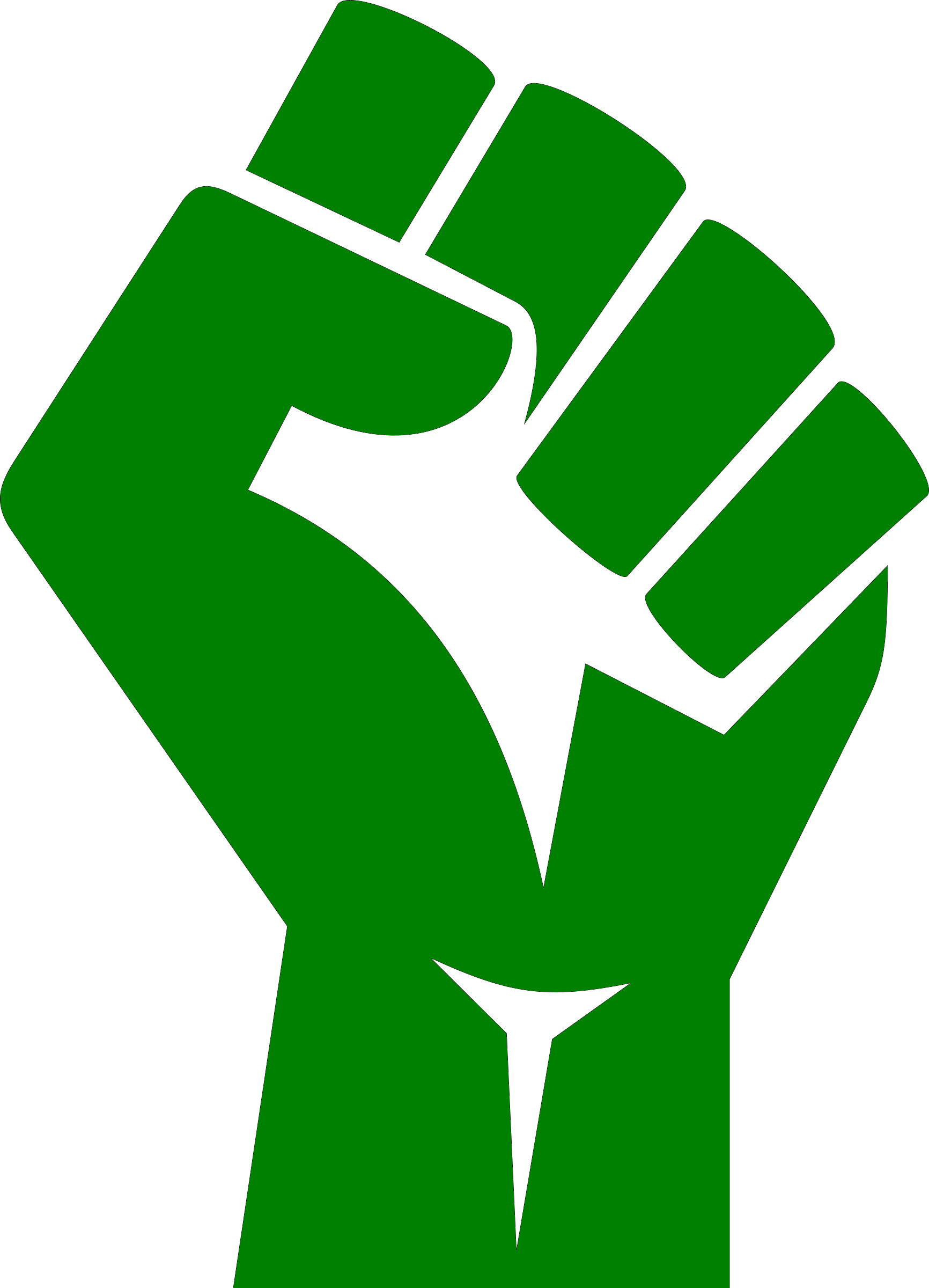Women s march in. Fist clipart resistance