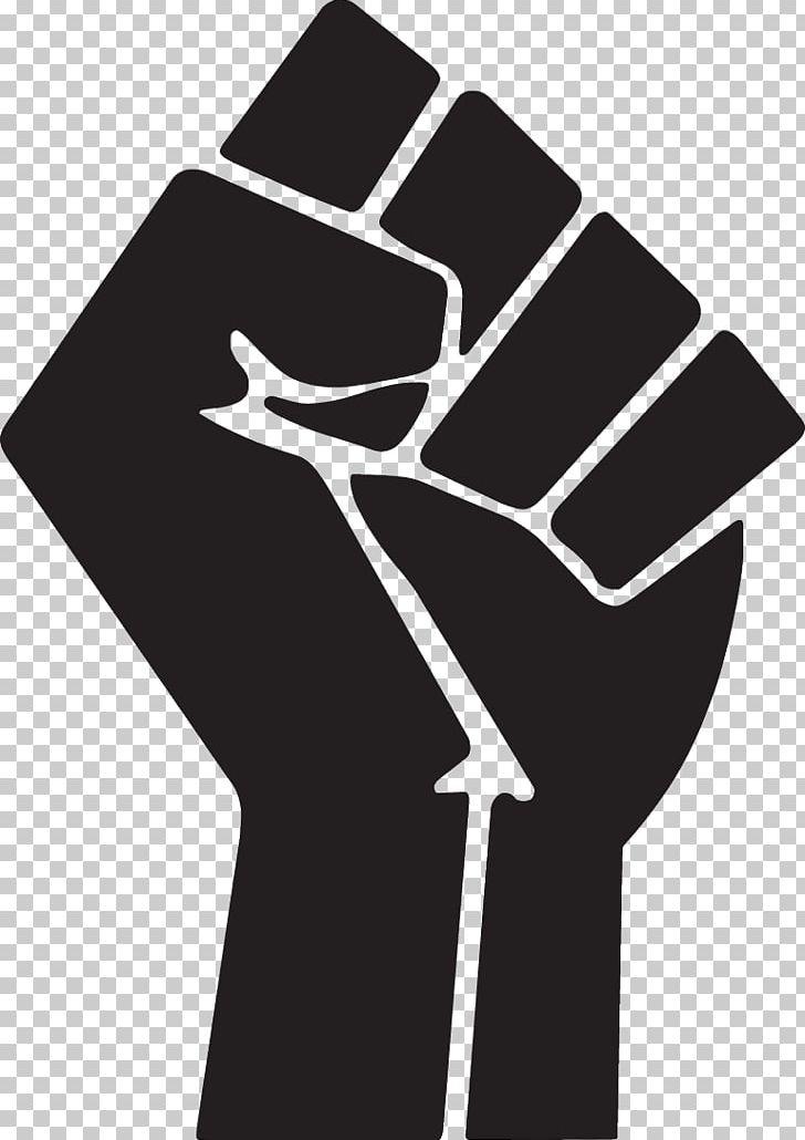 Raised symbol png black. Fist clipart revolution fist