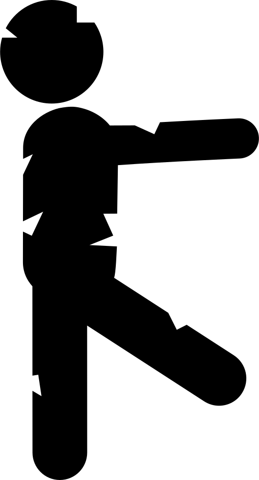 Silhouette at getdrawings com. Fist clipart side view