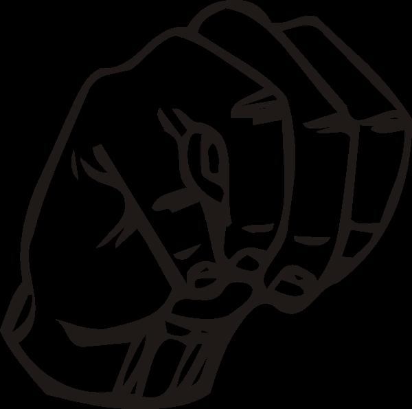 Hand clipart hang loose. Sign language m clip