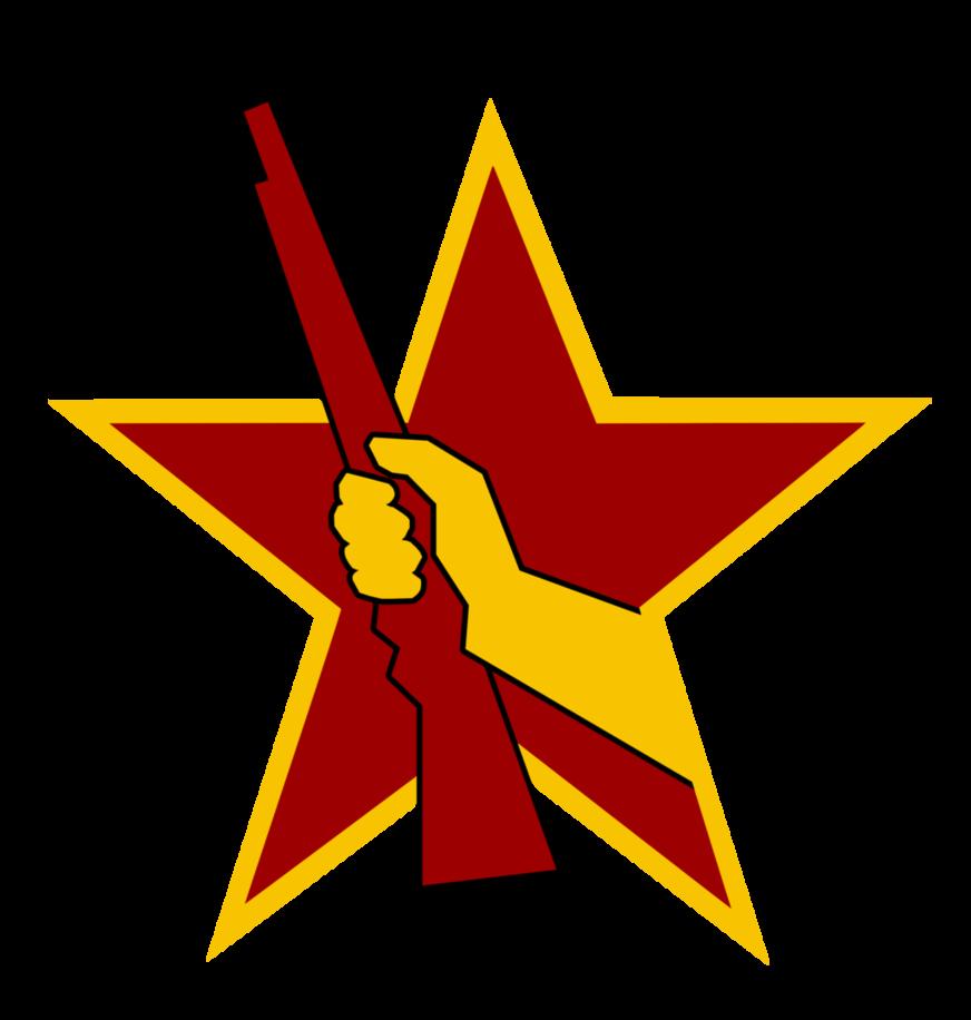 Fist clipart socialism. Socialist combat emblem by