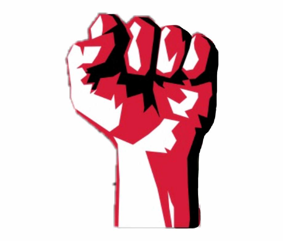 Fist clipart socialism. Communism revolution punch communist