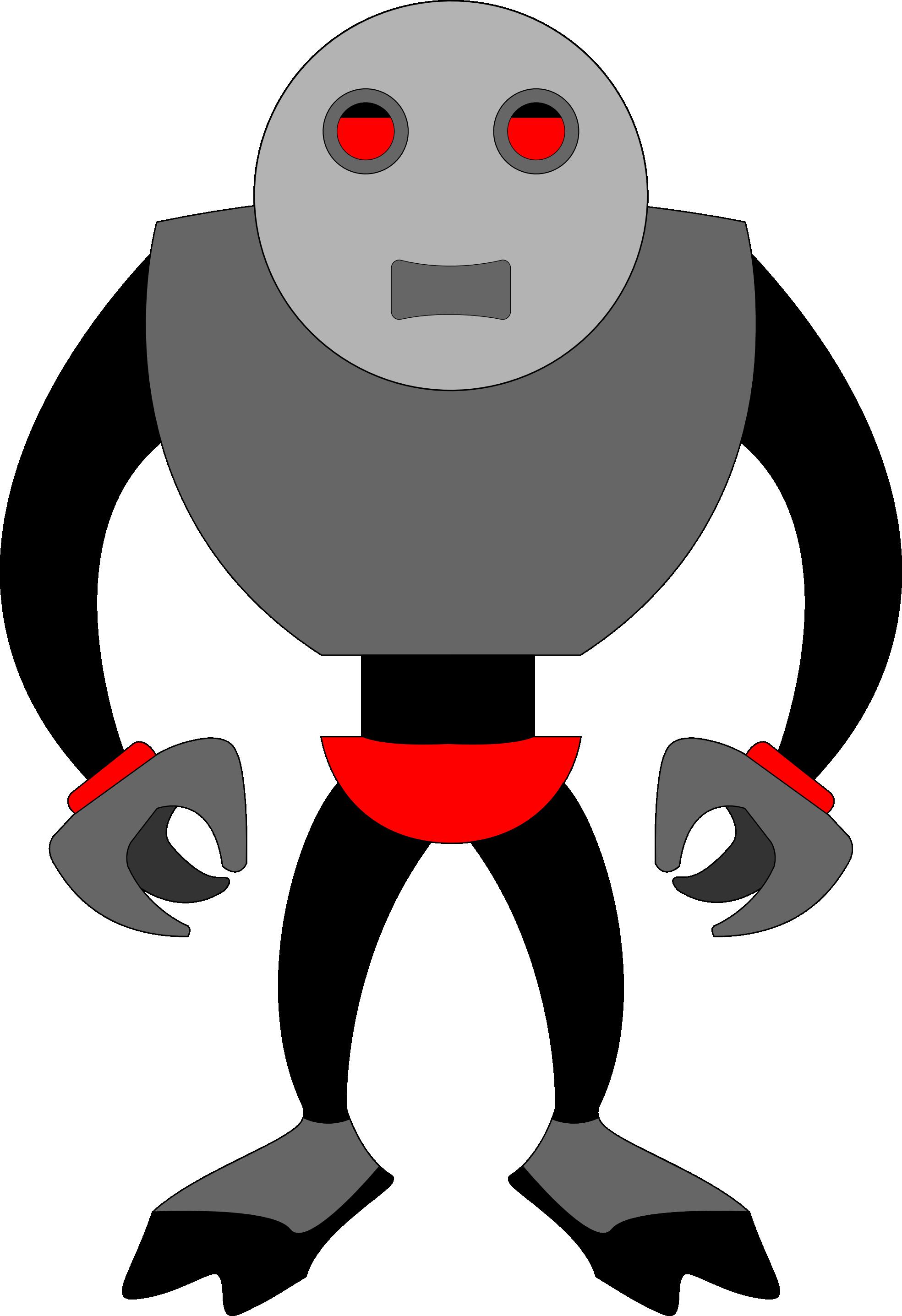 Solidarity panda free images. Party clipart robot