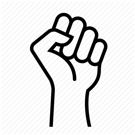 Wolf Stencil Eps Free Vector Download: Fist Clipart Strong Fist, Fist Strong Fist Transparent