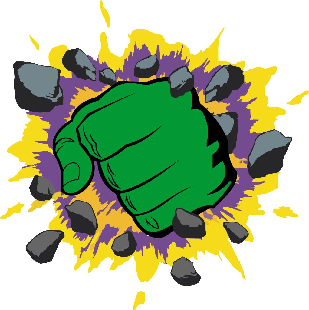 Logo google search batman. Head clipart hulk