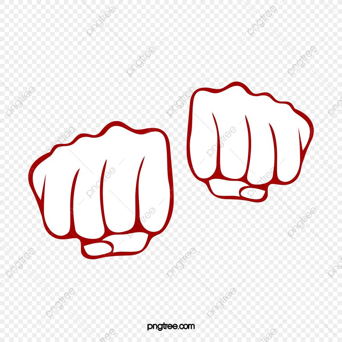 Fist clipart two. Fists png transparent