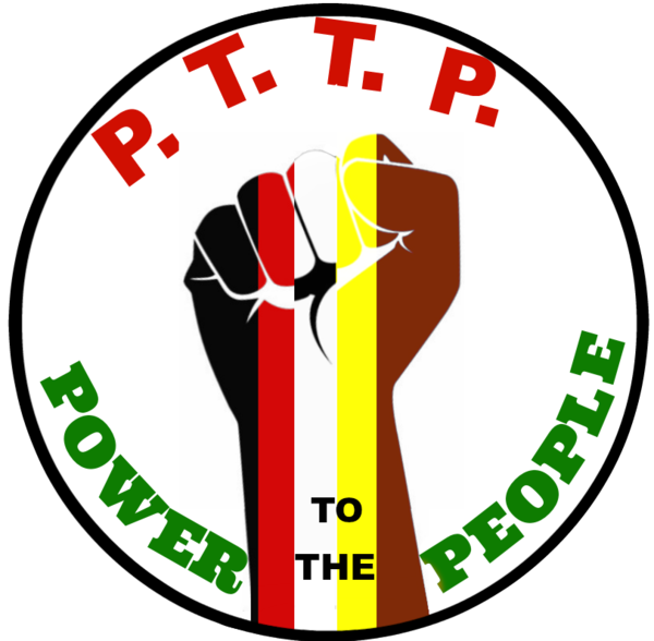 Power to the people. Fist clipart unity