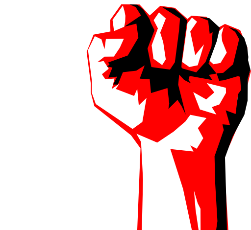 I royalty free public. Fist clipart worker