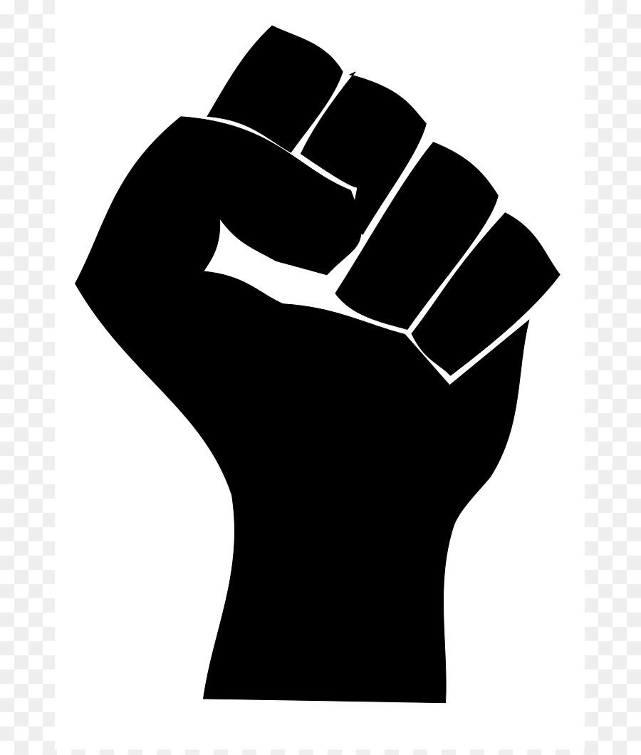 Black power png download. Fist clipart wrist