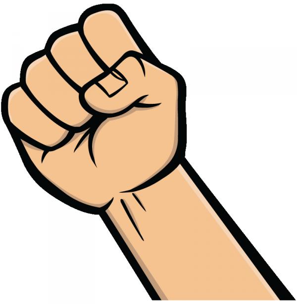 Final blends st. Fist clipart wrist
