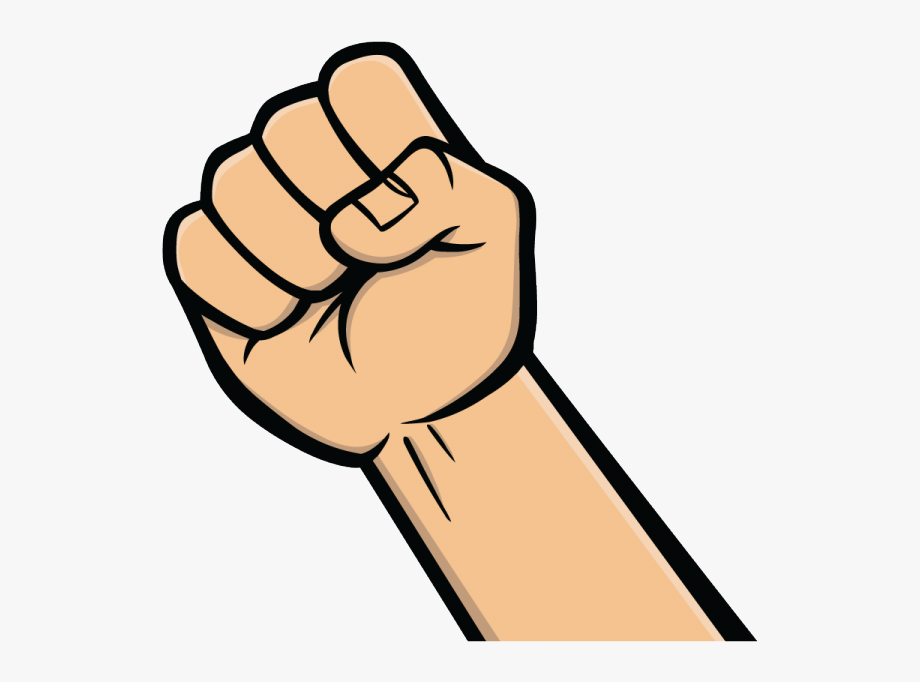 Fist clipart wrist. Collection of free transparent