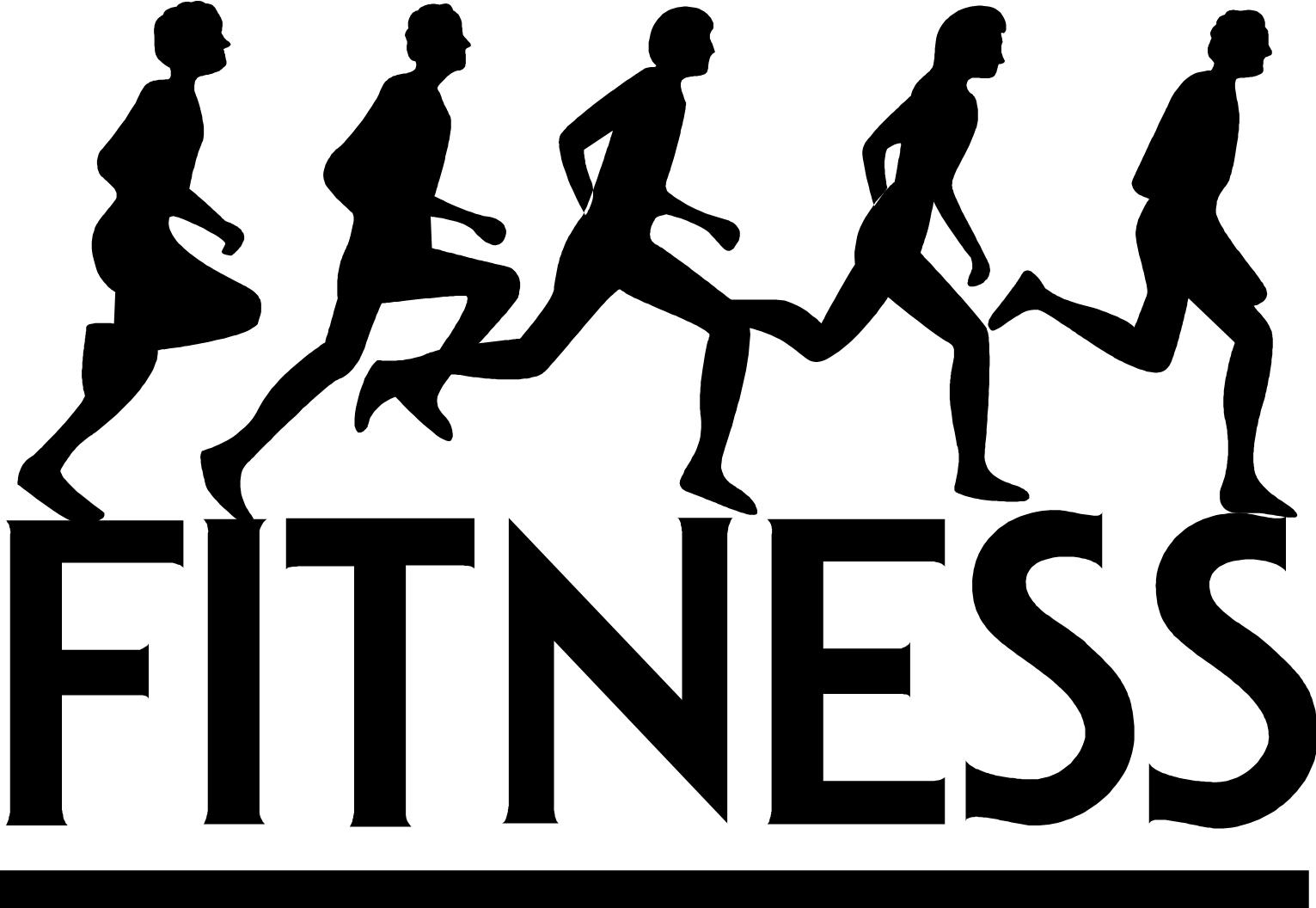 Fall fitness . Gym clipart excersize