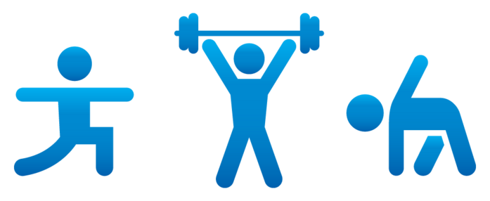 Free fitness cliparts download. Exercise clipart exercise routine