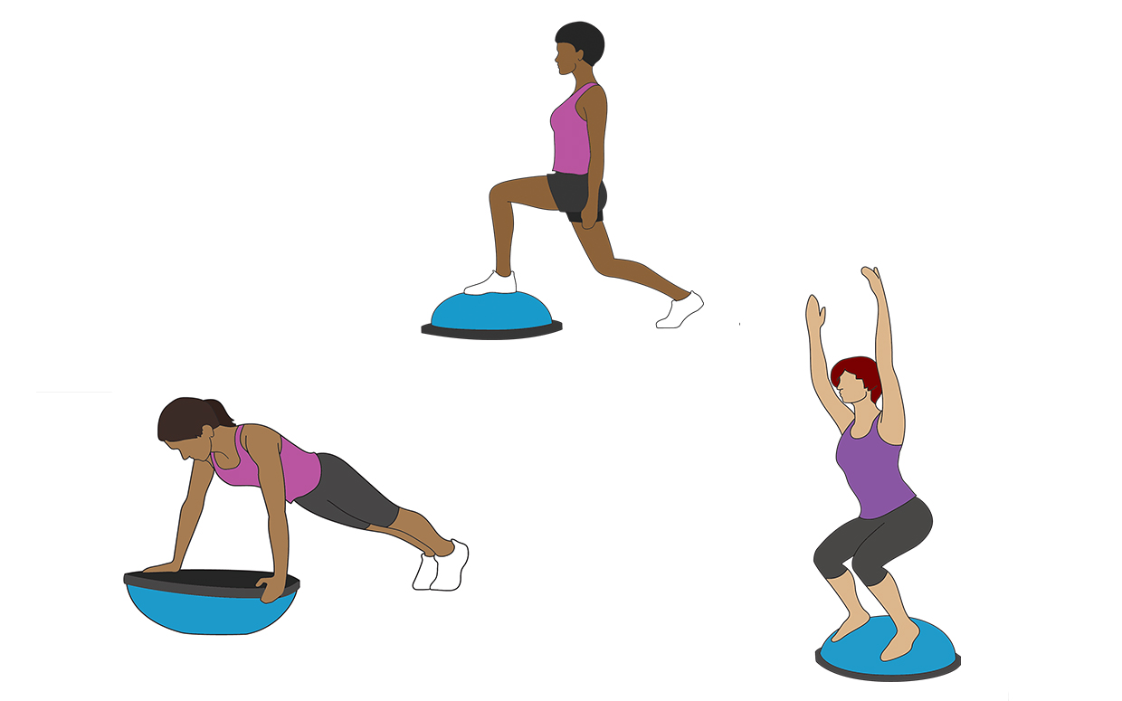 Fitness clipart balance exercise. Strengthen your core and