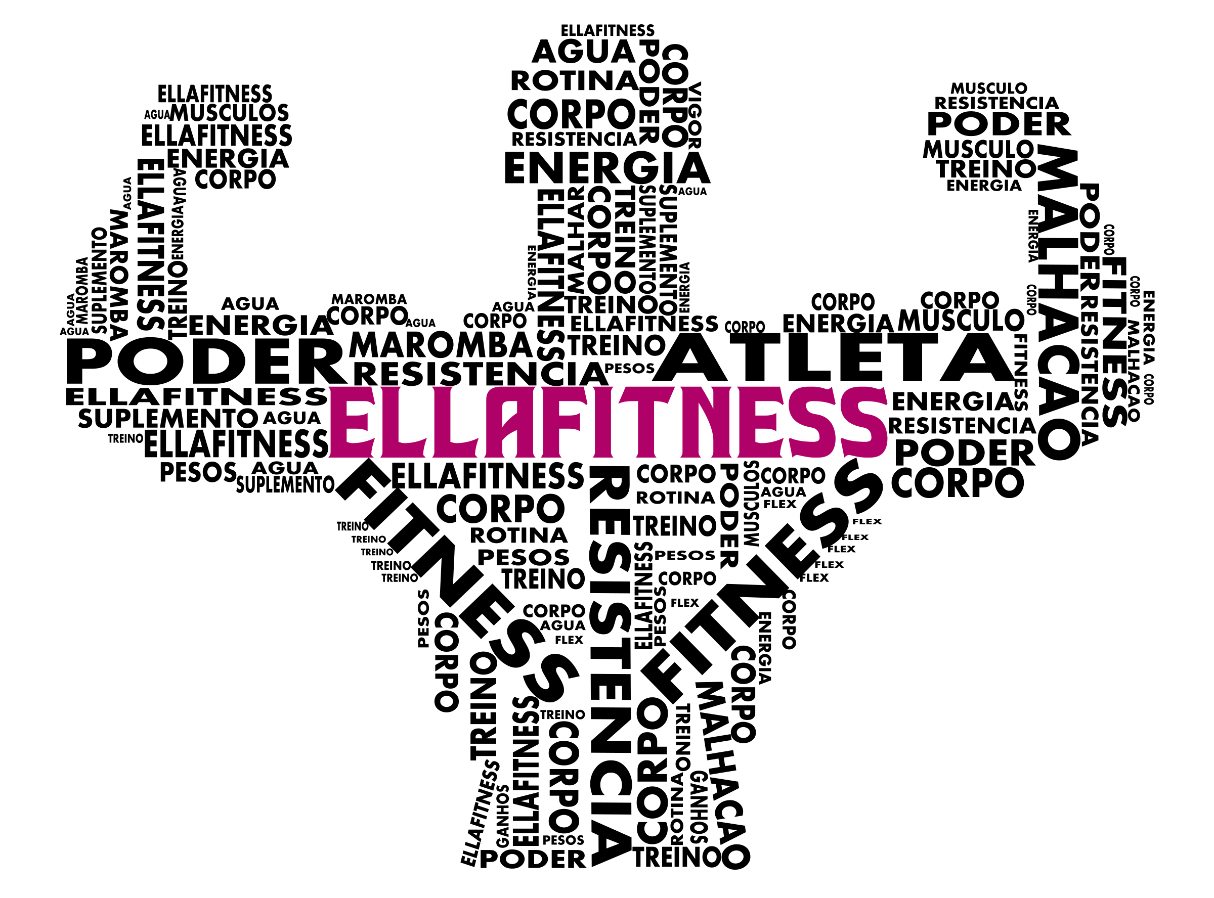 Power ella fitness icons. Weight clipart outline
