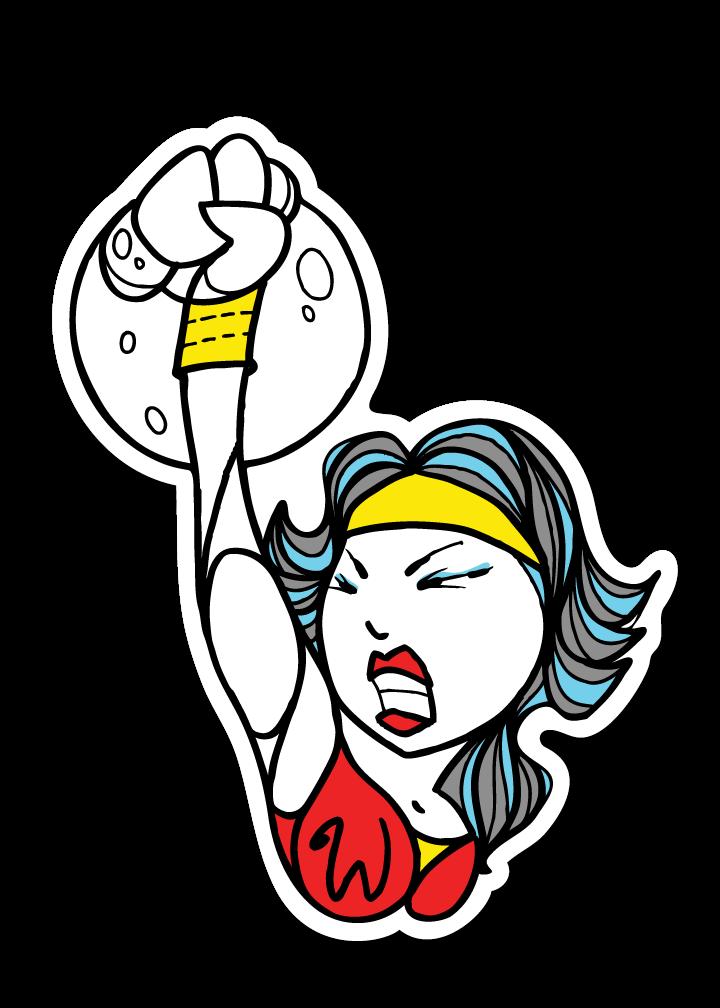 Motivation clipart sticker. Crossfit project x wondrous