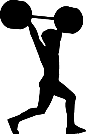 Free fitness cliparts download. Gym clipart muscular strength