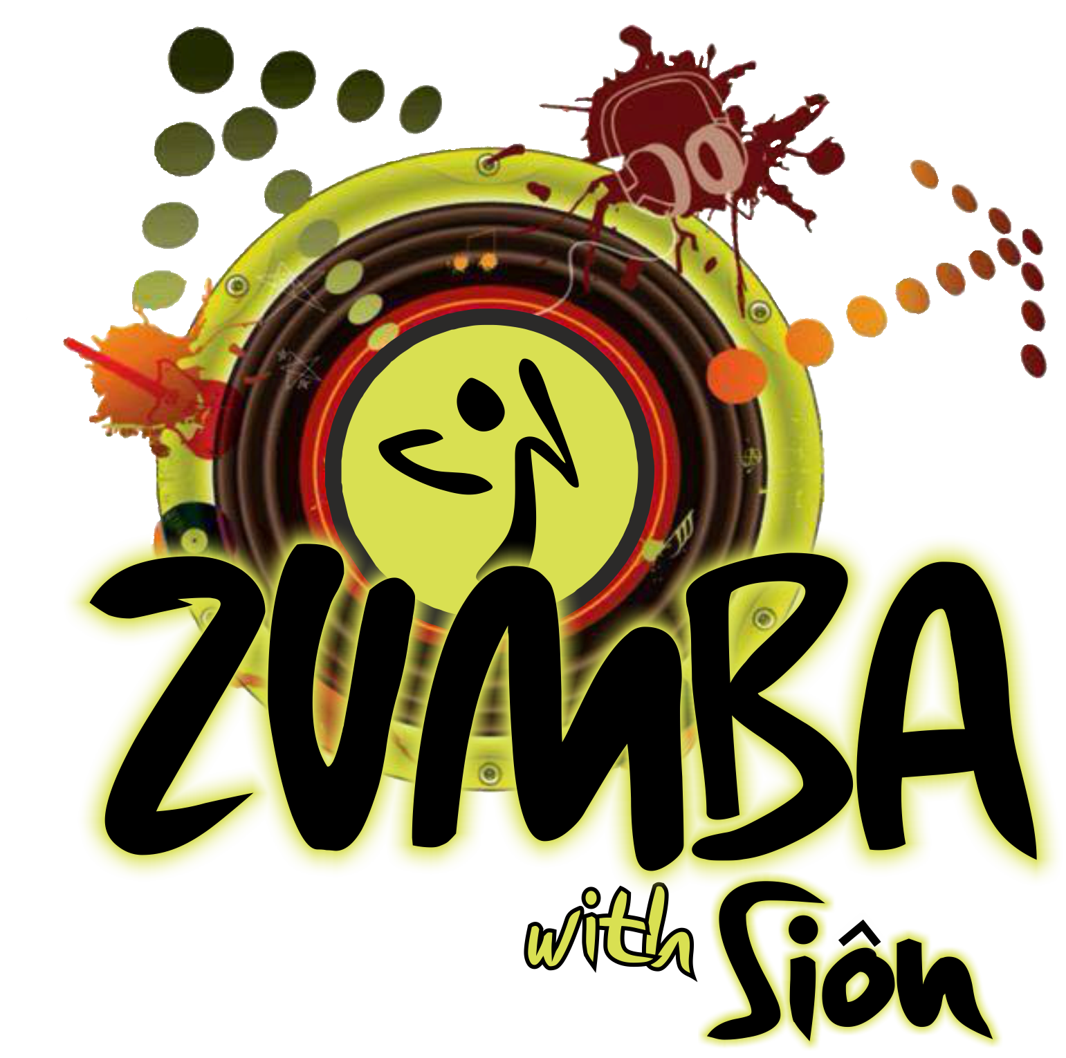 Zumba gym personal trainer. Fitness clipart fitness club