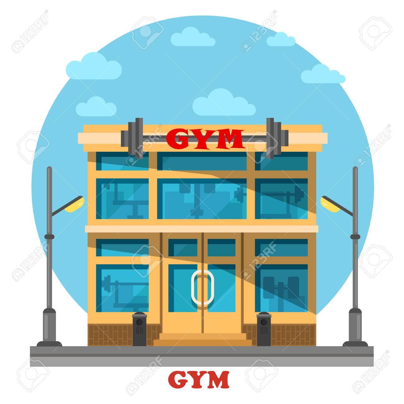Fitness clipart fitness club.