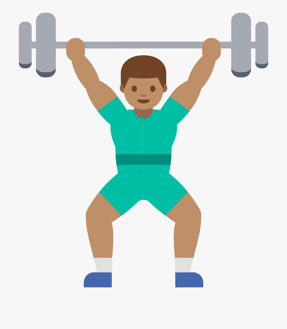 Clip art freeuse lifting. Muscles clipart weightlifting