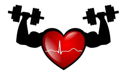 And your resting heart. Fitness clipart health talk
