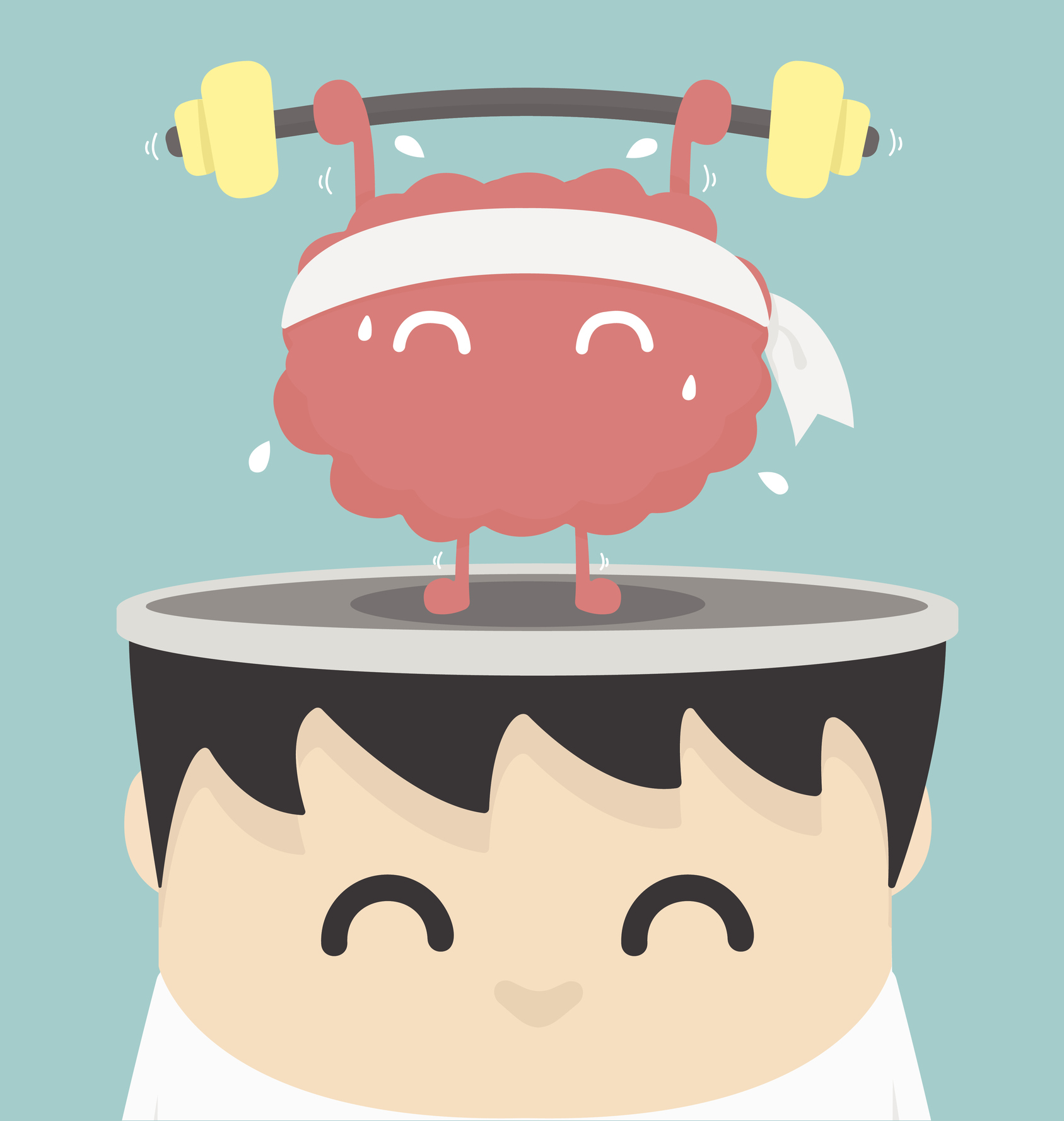 Mind over matter how. Fitness clipart health talk