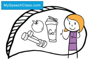 Fitness clipart health talk.  speech topics on
