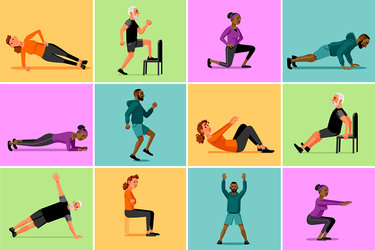 How long should a. Fitness clipart hiit