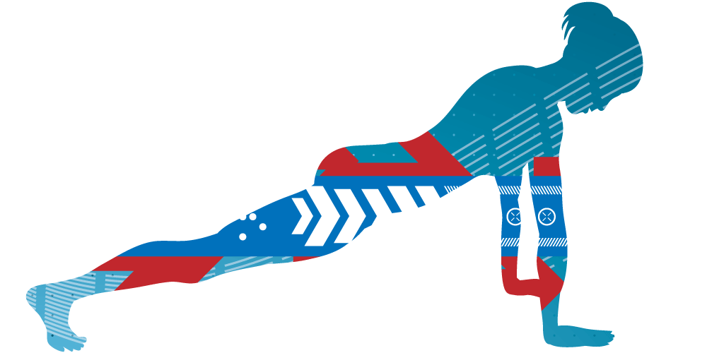 Fitness clipart plank. Wellmetrics challenges or increase